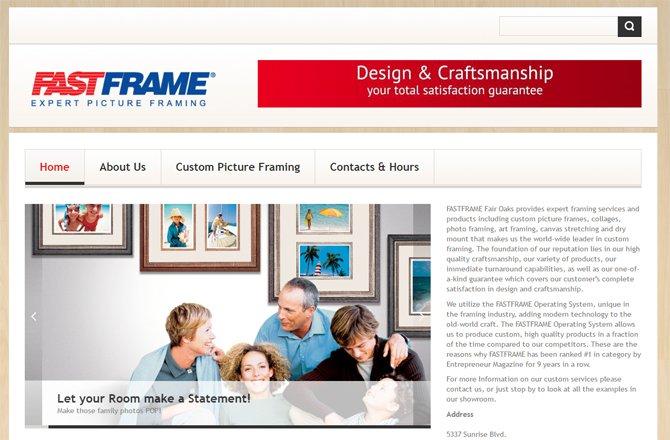 Retail Store – Custom Framer